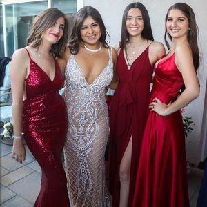 9f2334d229a Sherri Hill Dresses - Sherri Hill 51750 White Beaded SOLD OUT prom dress